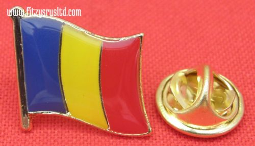 Romania Romanian Country Flag Lapel Hat Tie Pin Badge Romnia Gift Souvenir New